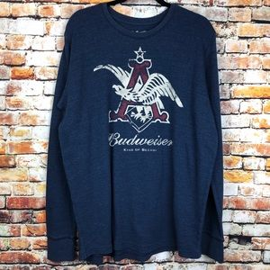 Budweiser King of Beers Eagle Long Sleeve Knit